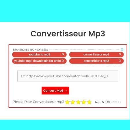 Convertisseur Mp3 | Youtube Mp3