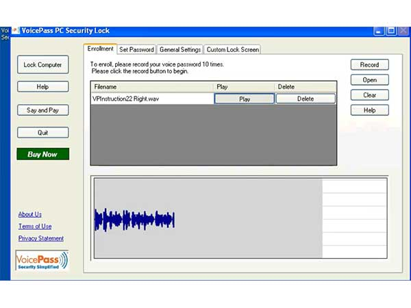VoicePass-PC-Lock-screenshot
